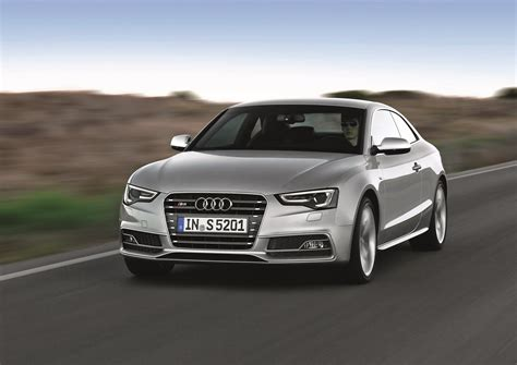 Audi S5 2012 by 2012 Prism Silver Audi S5 Coupe Driving Front View