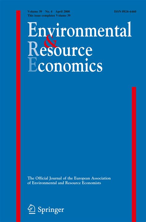 environmental and resource economics springer latex