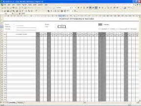 Alfa img showing gt school attendance sheet template