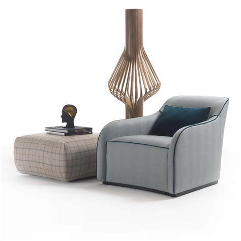 stylish armchair stylish italian designer blue upholstered armchair