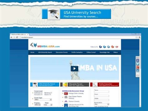 Ms And Mba In Usa by Ms Mba In Usa Higher Education In Abroad
