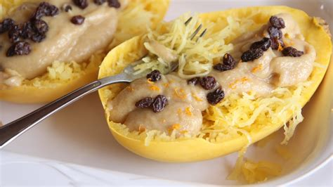 How About A Spaghetti For Dessert by Sweet Spaghetti Squash Dessert Recipe