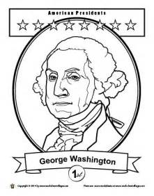 george washington coloring page coloring pages coloring and lincoln on