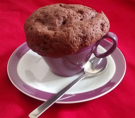 schoko kuchen ohne ei schoko tassenkuchen ohne ei rezepte zum kochen