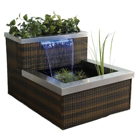 Indoor Water Garden Kits by Shop Smartpond Pond Kit At Lowes