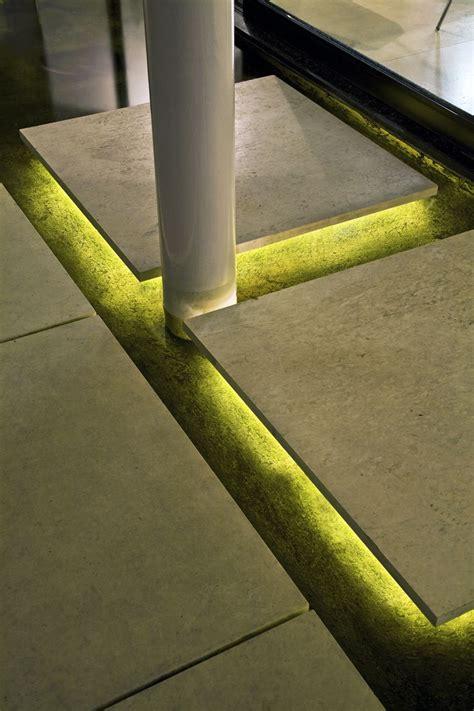 steps  illuminated   warm white led
