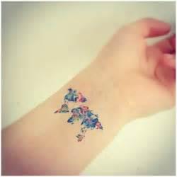 Map Of The World Tattoo by Tiny World Map Tattoo On Wrist