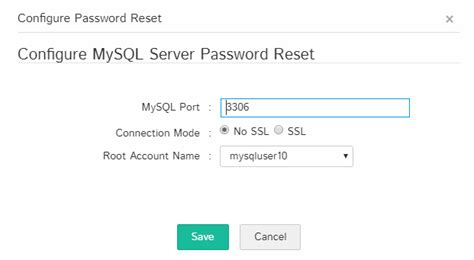 configure xp mysql password adding resources to password manager pro database