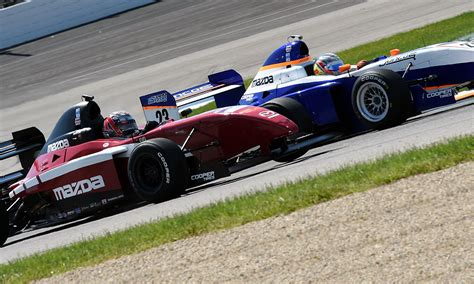 pro mazda two points separate pro mazda leaders headed to