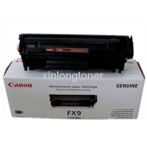 Toner Fx9 canon fx9 original toner cartridge from china manufacturer hongkong xinlong industrial co limited