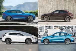 Vs Jaguar Styling Size Up Jaguar F Pace Vs Bmw X4 Porsche Macan