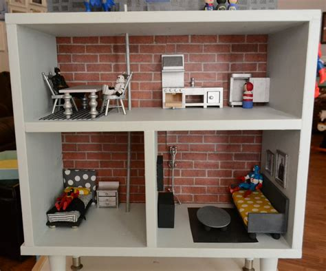 how to make an easy doll house preppy mom november 2012