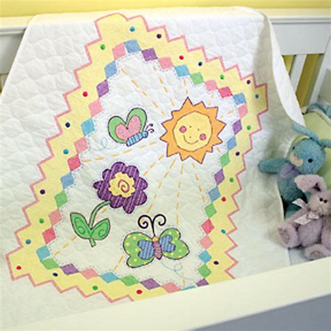 Cross Stitch Baby Quilt Patterns by Embroidery Quilts Kits Embroidery Designs