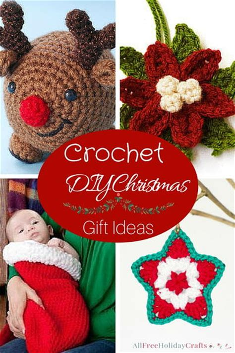 free crochet patterns easy christmas gifts 14 crochet diy gift ideas allfreeholidaycrafts