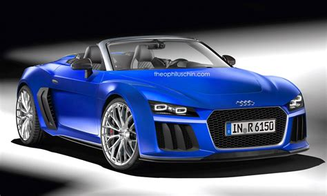 R6 Audi by Audi R6 Spyder Rendering Has A Future Retro Look