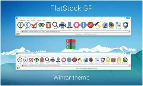 download themes windows 7 rar flatstock gp winrar theme by alexgal23 on deviantart