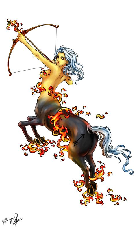 centaur tattoo designs sagittarius commission by yuumei on deviantart