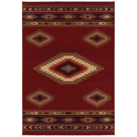 Area Rugs Home Decorators by Home Decorators Collection Aztec Red 7 Ft 10 In X 10 Ft