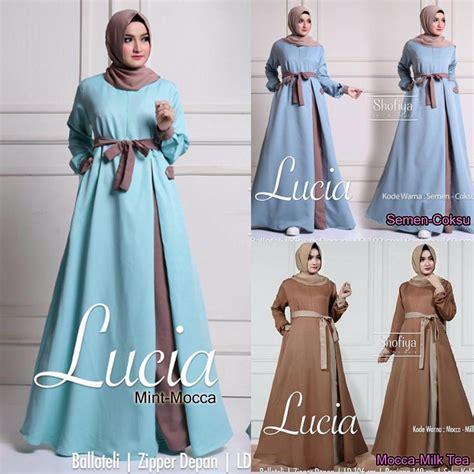 Baju Wanita Grosir Midory Dress grosir pakaian wanita lucia dress grosir baju muslim