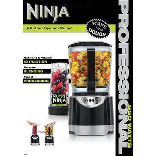 Ninja Bl201 174 Kitchen System Pulse Kitchen System Pulse 550 Watts