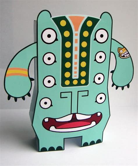 Papercraft Monsters - big boris the free paper