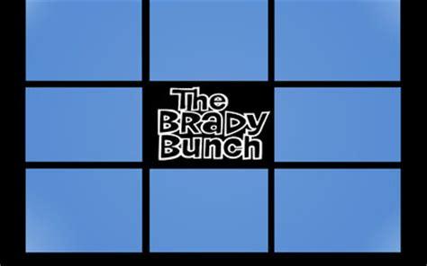 brady bunch template the brady bunch opening screen by alibabes777 on deviantart