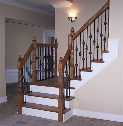 wrought iron stair railing adorn staircase using beautiful iron stair railing charming interior design with iron stair