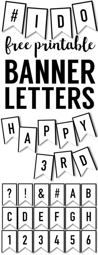 free printable fonts for banners banner templates free printable abc letters personalized
