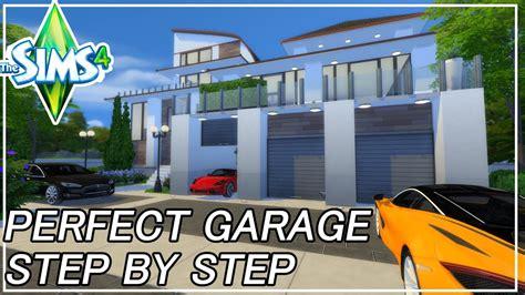 sims  perfect garage step  step tutorial