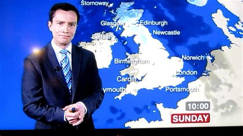 Unlucky BBC weather presenter swears C*NT accidently Live ...