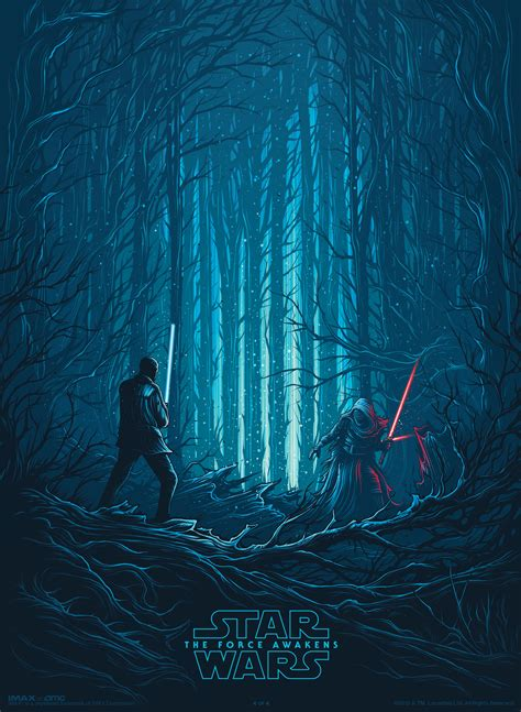 Imax Poster Giveaway - final imax star wars the force awakens poster revealed