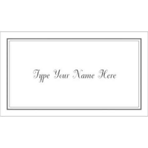 name card templates for graduation announcements templates gray border graduation name card 10 per sheet
