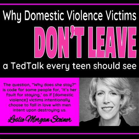 why so many domestic violence survivors dont get help ocbeachteacher