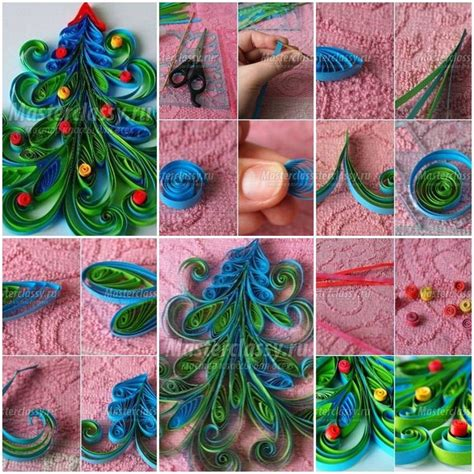 paper quilling project tutorial 717 best quilling christmas images on pinterest