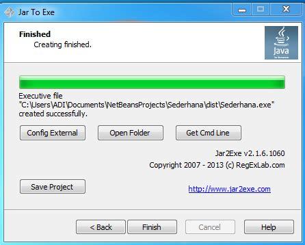 Membuat Html Menjadi Exe | cara membuat file java menjadi exe sandi susanto