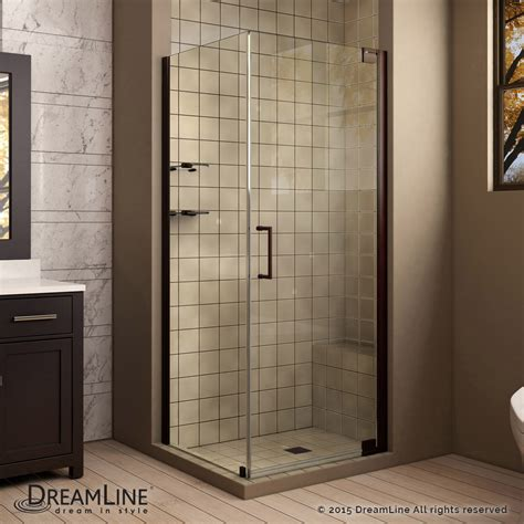 3x3 Shower Insert Elegance Pivot Shower Enclosure