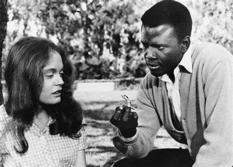film blue negro sidney poitier s patch of blue is not exactly your