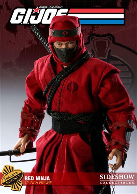 film ninja red g i joe red ninja sixth scale figure by sideshow