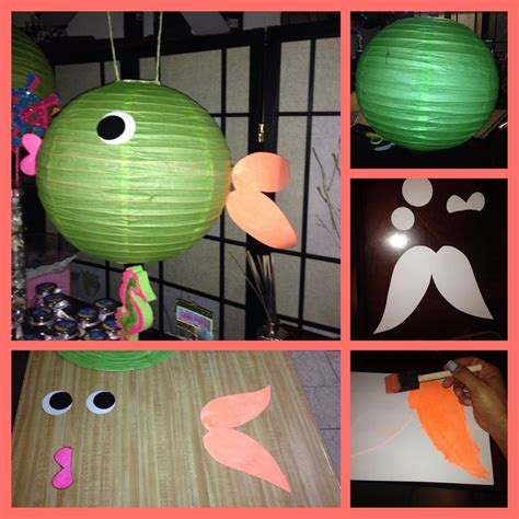 How To Make Paper Lantern Fish - fish paper lantern fish paper lantern
