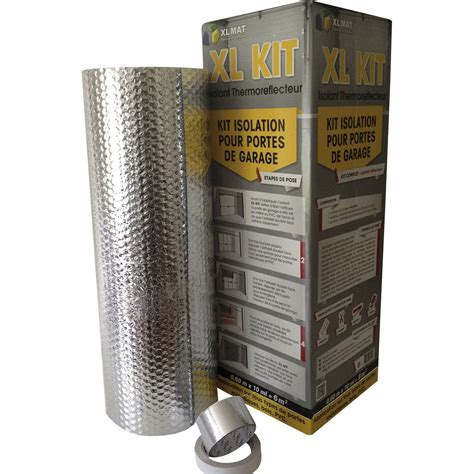 kit porte de garage xl mat 10x0 6m ep 3mm leroy merlin