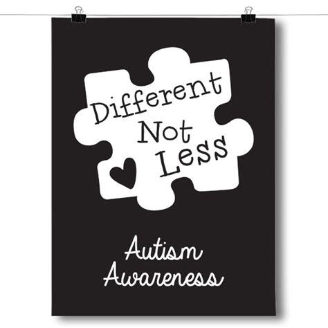 black autism awareness puzzle piece