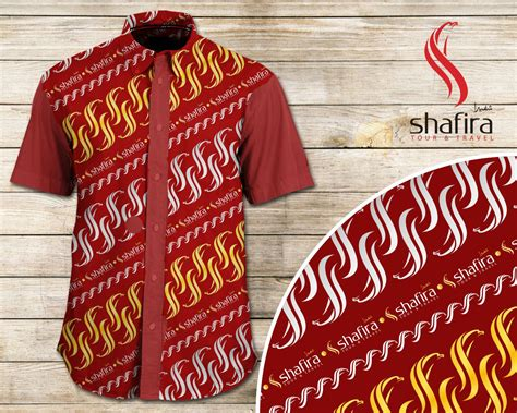 desain dress batik 2015 gallery desain seragam batik untuk travel umroh shafira