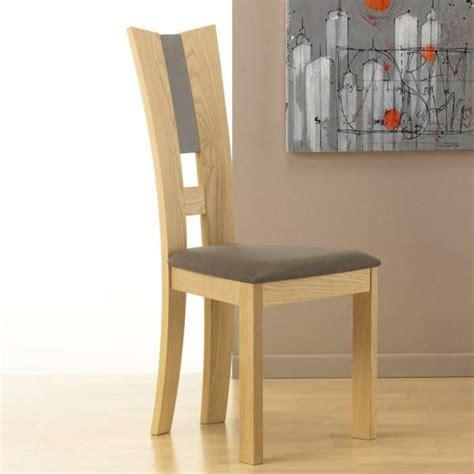 chaise salle a manger contemporaine chaise de salle 224 manger contemporaine en tissu et bois