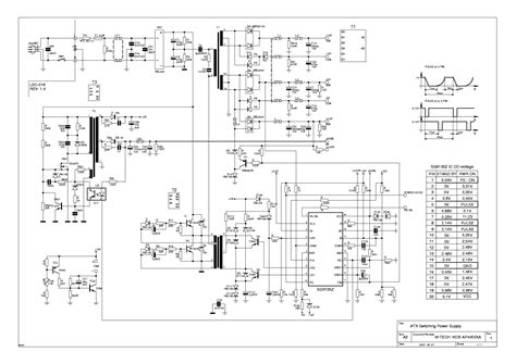 atx 450w smps circuit diagram atx 600w power supply circuit diagram efcaviation