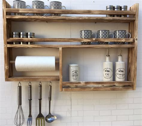 kitchen spice rack ideas 16 practical handmade spice rack ideas that will help you