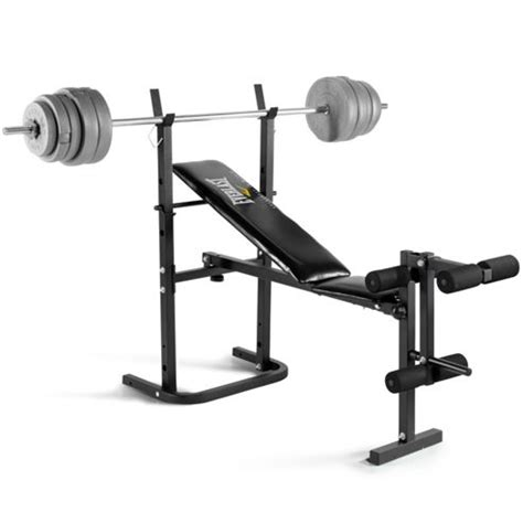 weight bench tesco buy everlast foldable weight bench 40kg barbell weight
