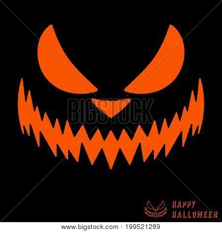 halloween scary pumpkin template vector photo bigstock