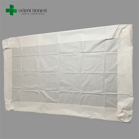 rubber bed sheets soft non woven bed sheet cover hygiene bed sheet with