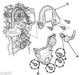 Honda Civic 2001 Timing Belt 2001 2005 Oem Honda Civic Dx Ex Hx Lx 1 7l Sohc Timing