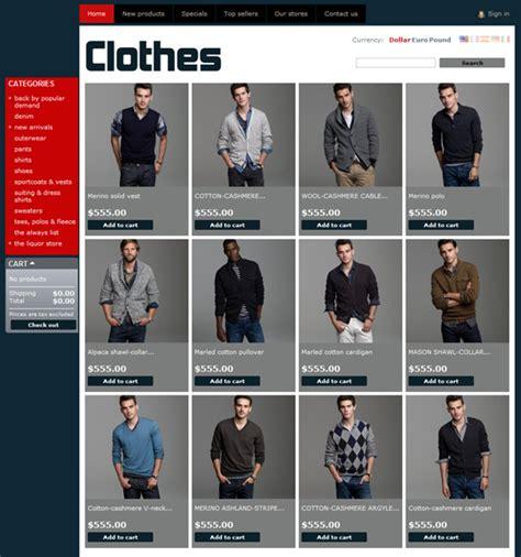 themes clothing top 10 free prestashop 1 4 themes free prestashop